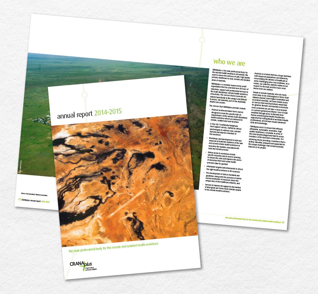 CRANAplus : Annual Report