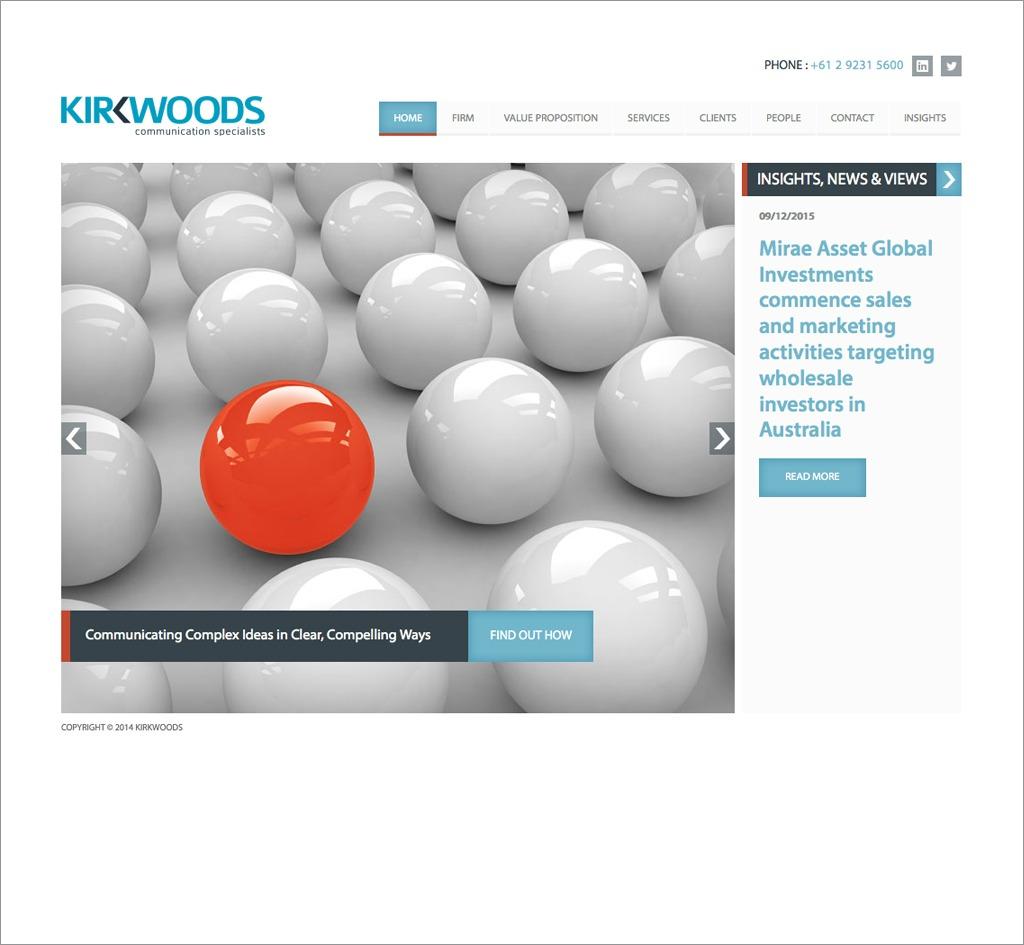 Kirkwoods : Website