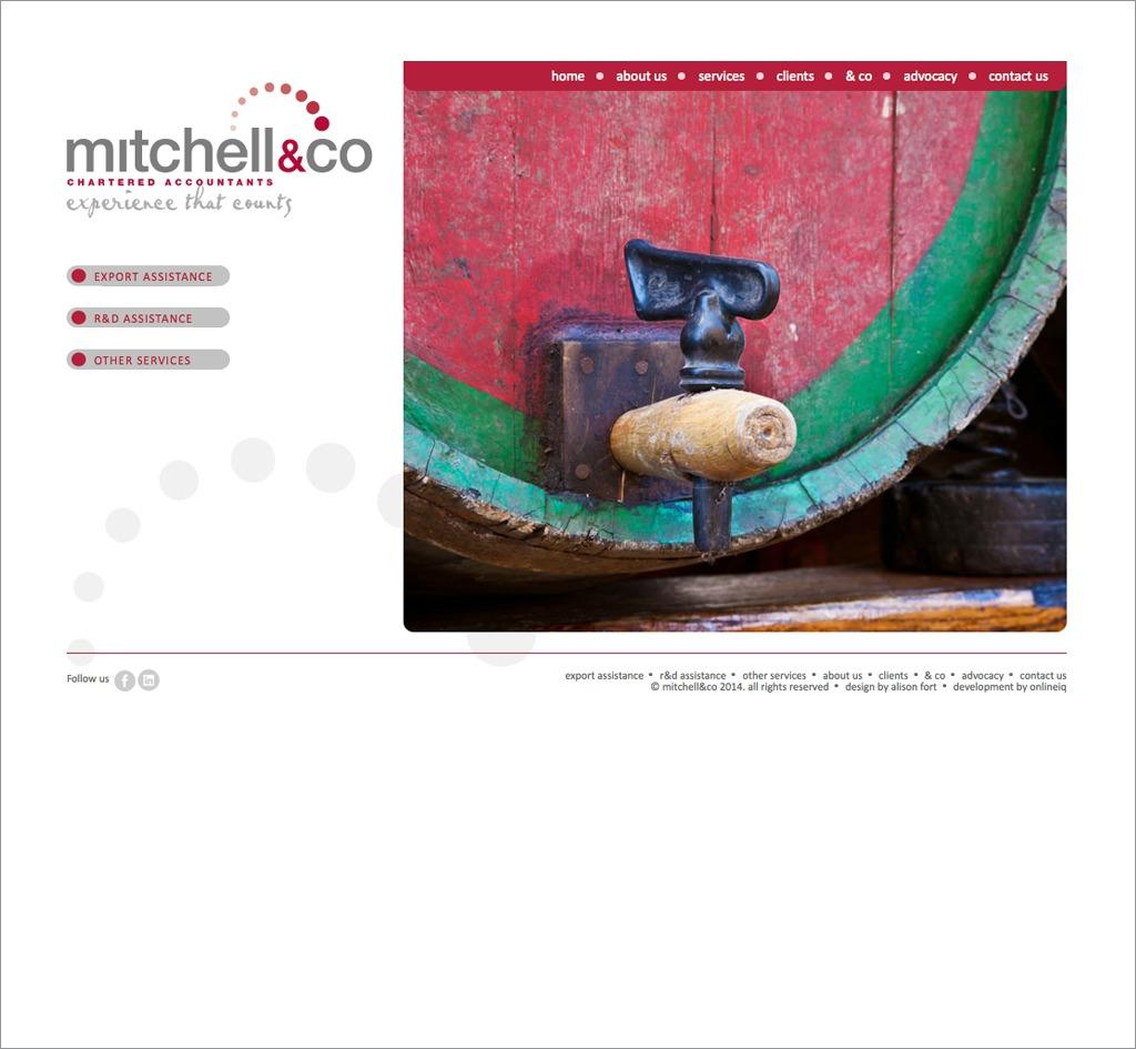 Mitchell & Co : Website