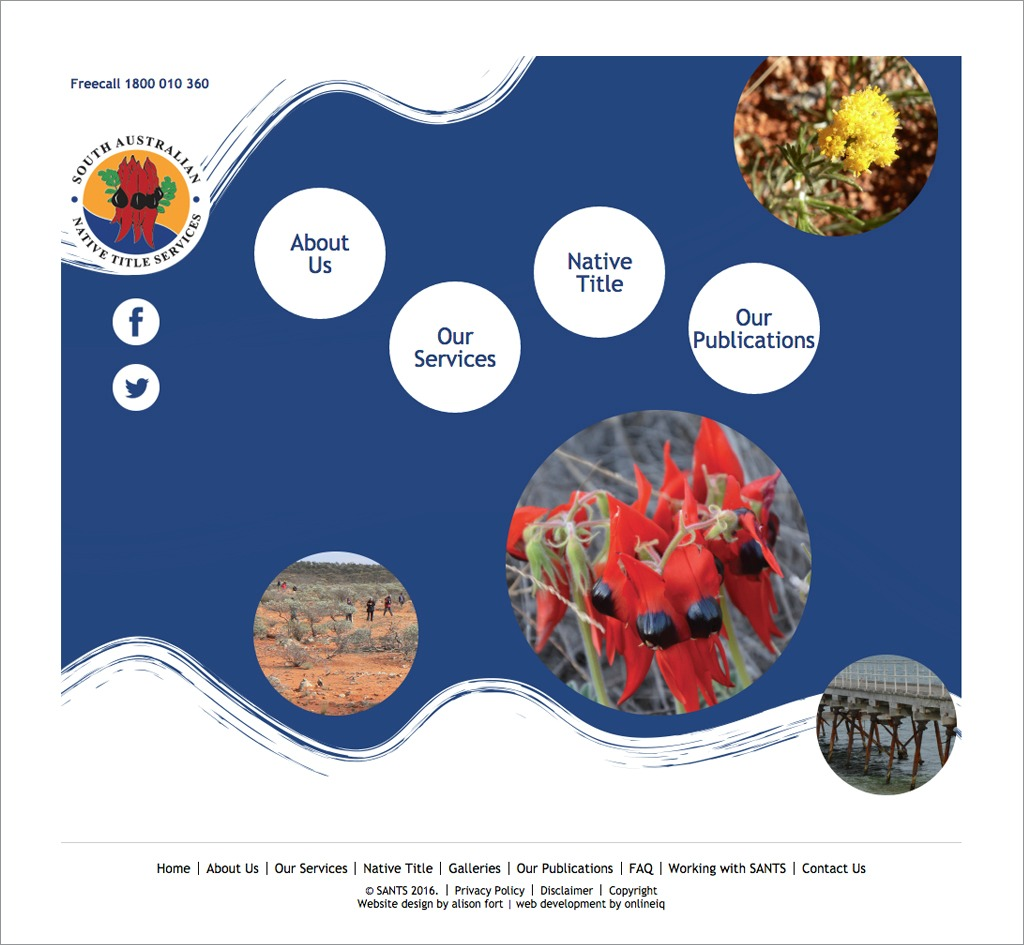 South Australian Native Title Services (SANTS) : Website