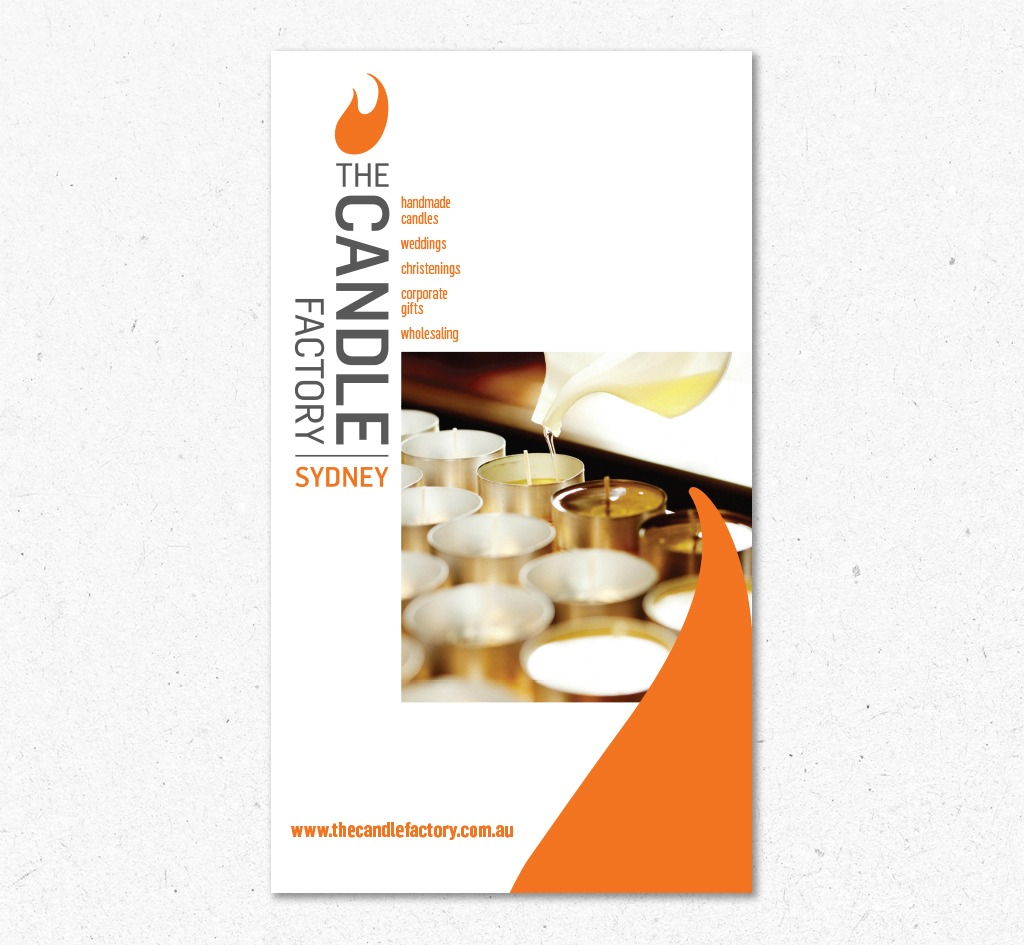 The Candle Factory : Signage
