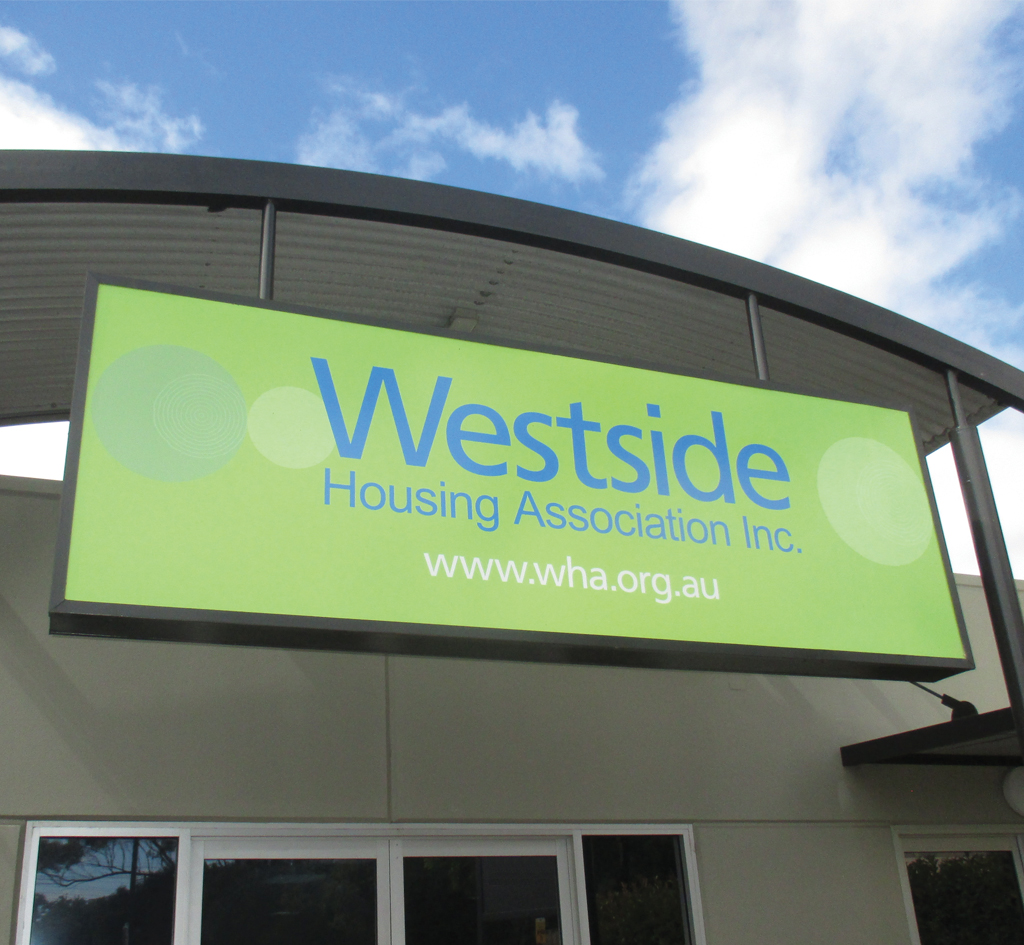 Westside Housing Association : Signage