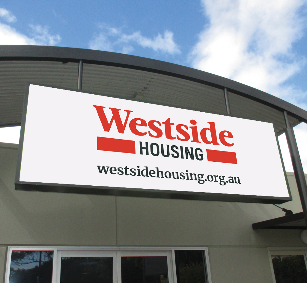 Westside Housing : Signage