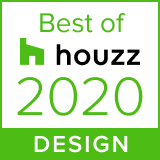 Houzz best of design badge 2020