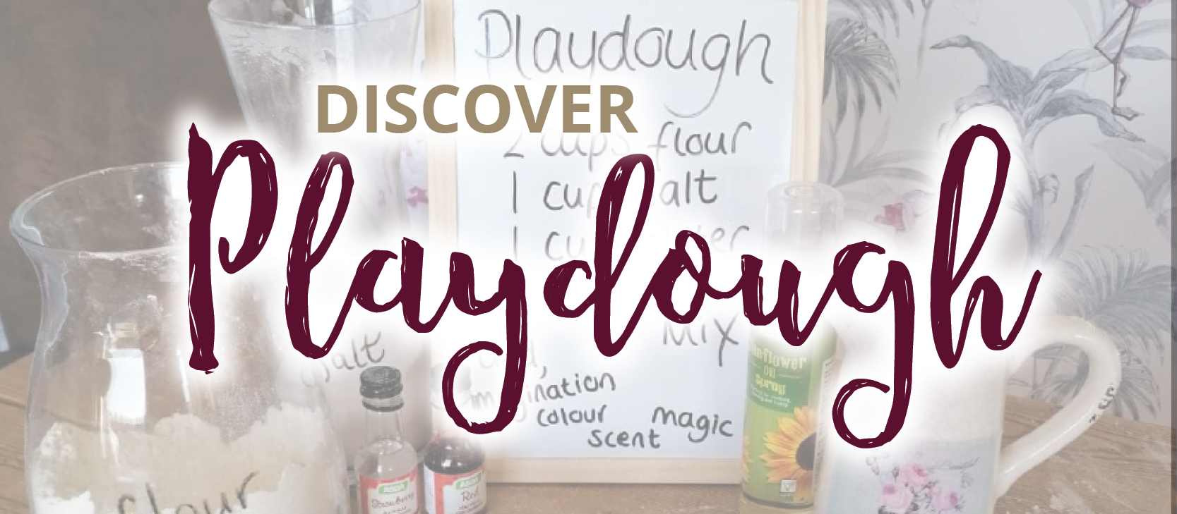 North Gloucestershire Network - Discover Magic of Playdough - 28/05/2022