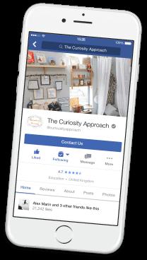 The Curiosity Approach on Facebook