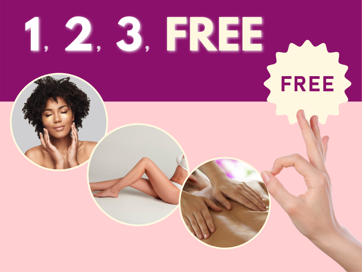 October special... it's 1-2-3-free!