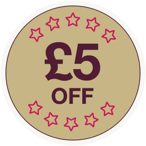 £5 off any other treatment
