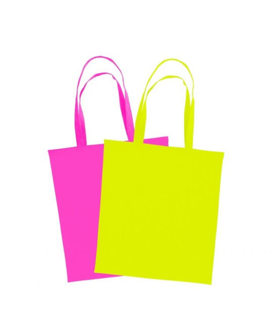 TOTE BAG RIO - SAC SHOPPING FLUO POLYESTER 145 GRS