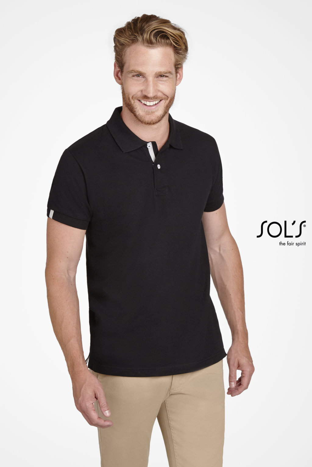 POLO HOMME SOL'S PORTLAND