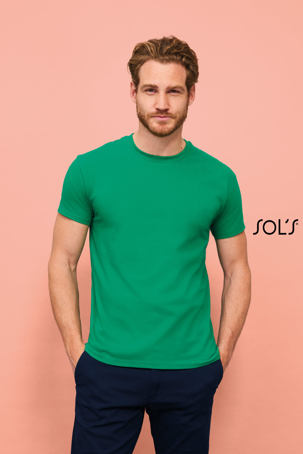 TEE SHIRT HOMME SOL'S QUALITE SUPERIEURE Imperial