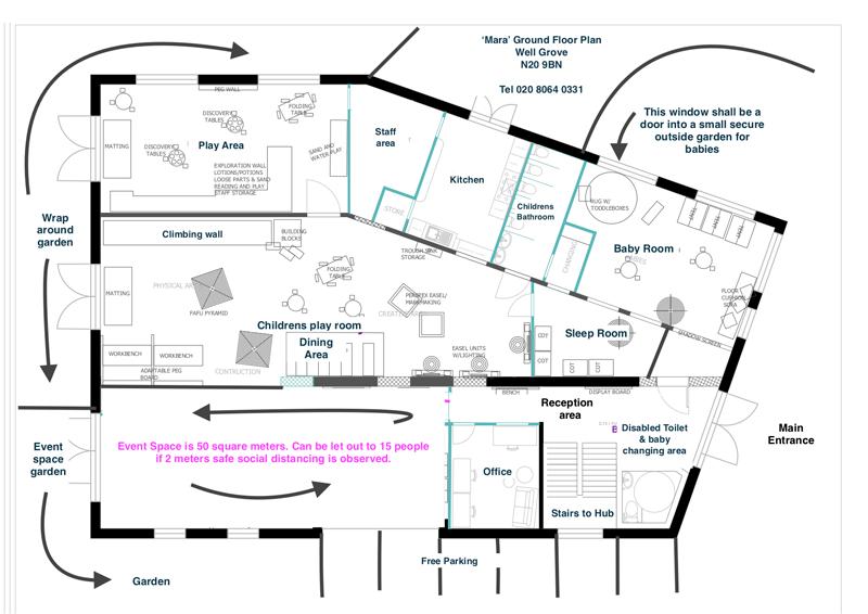 Event Space Floor Plan