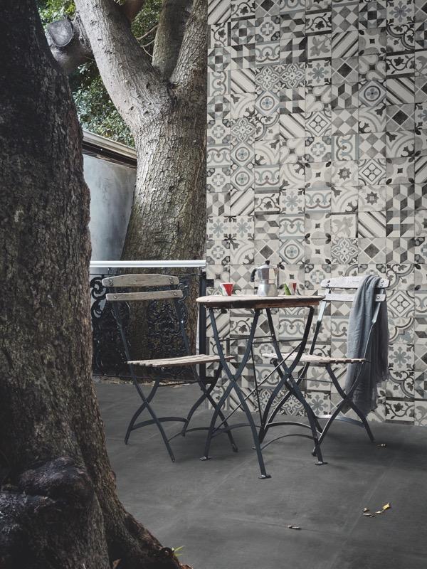 Ottocento Decoro Mix Talco Porcelain Tiles