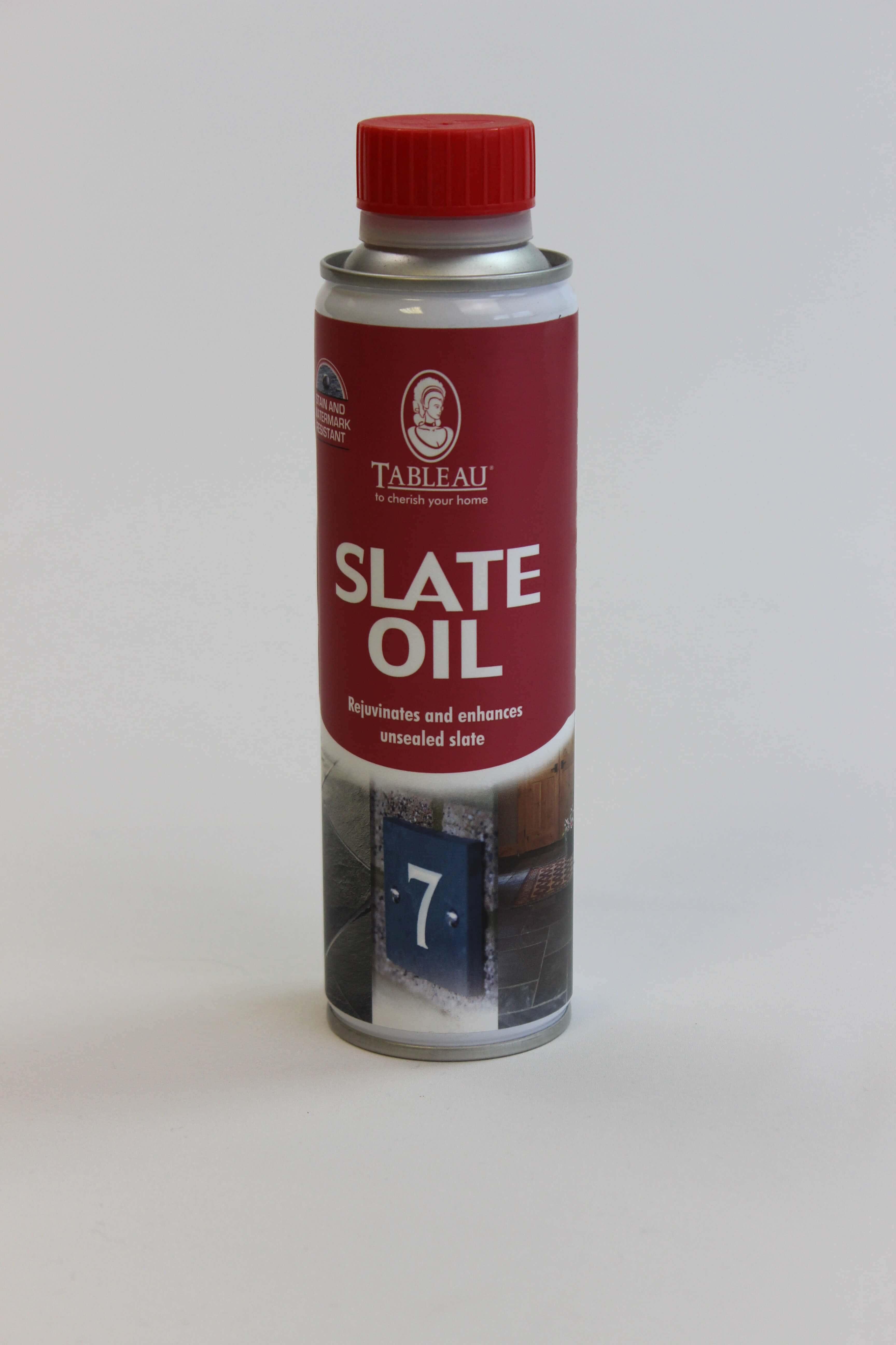 Tableau Slate Oil