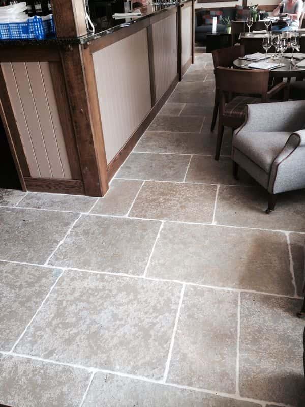 Antique Yellow Limestone Tiles