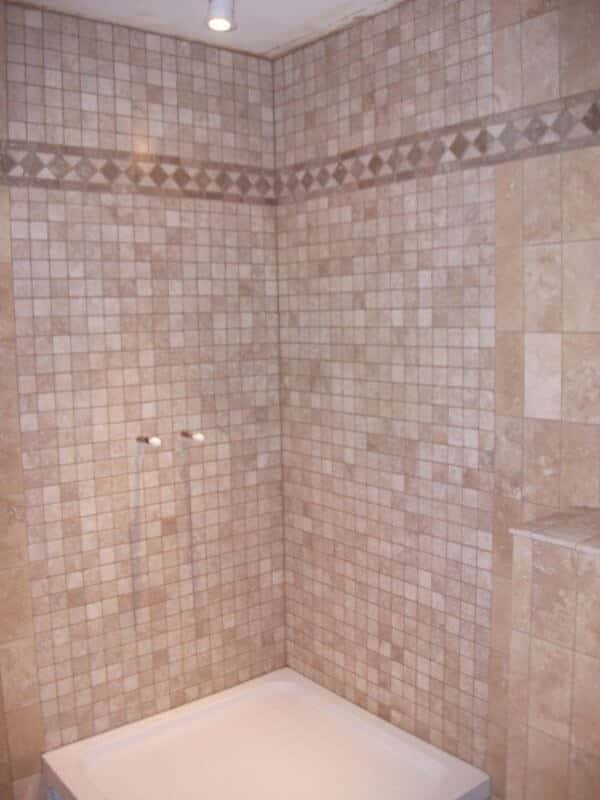 Classic Tumbled Travertine Mosaics