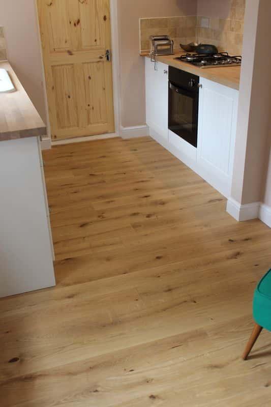 15x140 Engineered Oak Oiled - Character Grade