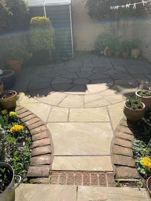 Raj Blend Sandstone Circles