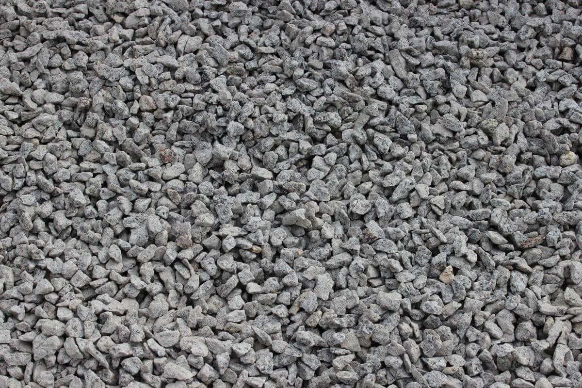 Silver Grey Granite Chippings