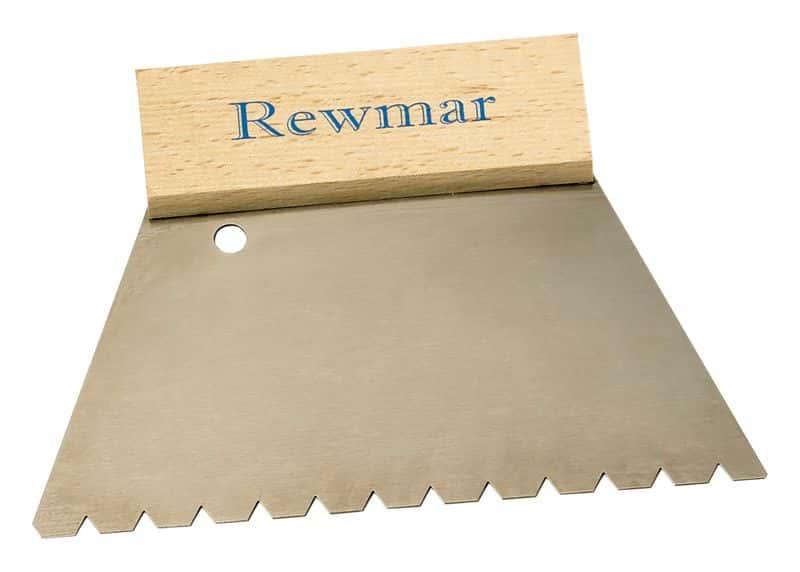 Rewmar 6mm (B11) V Notch Trowel