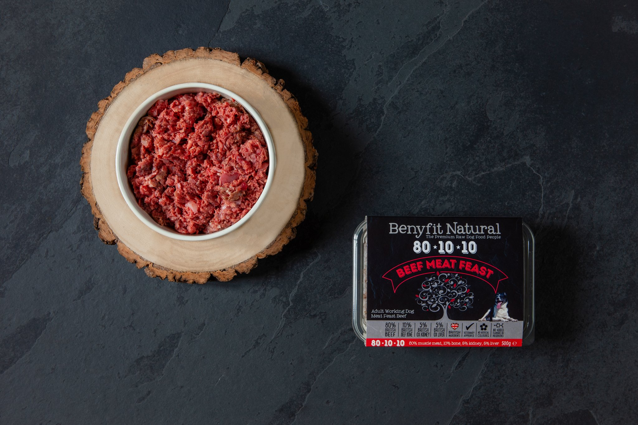 Benyfit Natural 80*10*10  Beef Meat Feast 1kg