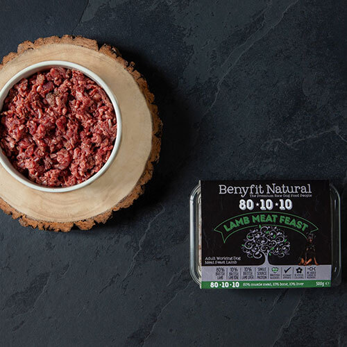 Benyfit 80*10*10 Lamb Meat Feast 1kg