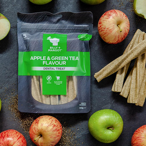 Apple & Green Tea Dental Treat - Billy & Margot