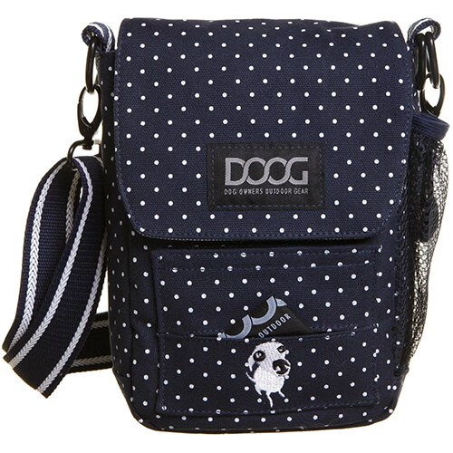 Doog Walkie Bag - Polka Dot Blue & White
