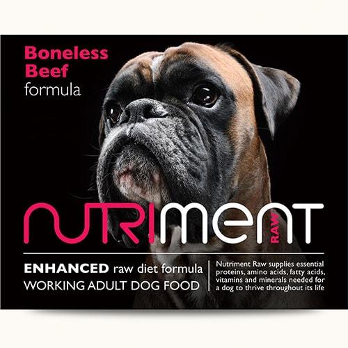 Nutriment - Boneless Beef - 500g