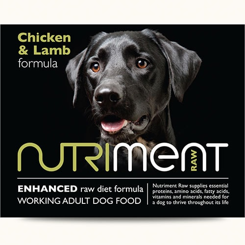 Nutriment - Chicken and Lamb - 500g