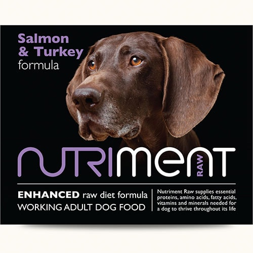 Nutriment - Salmon with Turkey - 500g