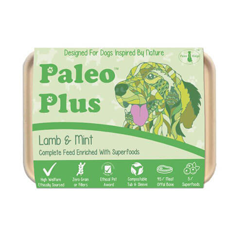 Paleo Ridge - Paleo Plus Lamb & Mint 500g
