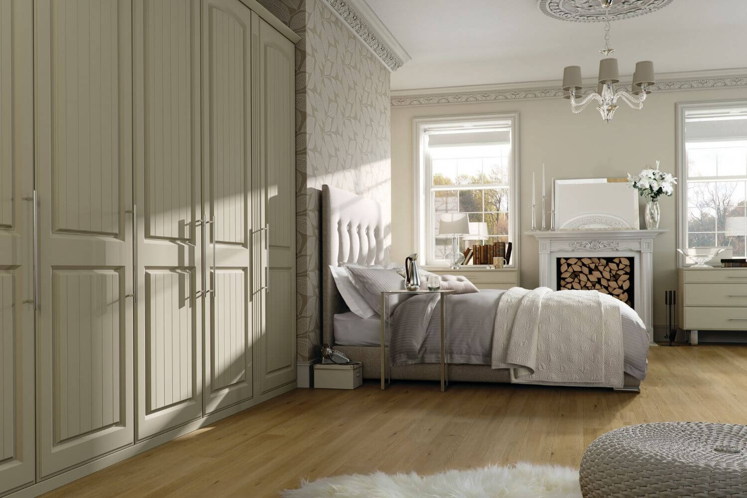 Classic traditional bedroom