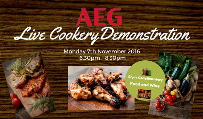 Ream Cookery Demonstration Evening