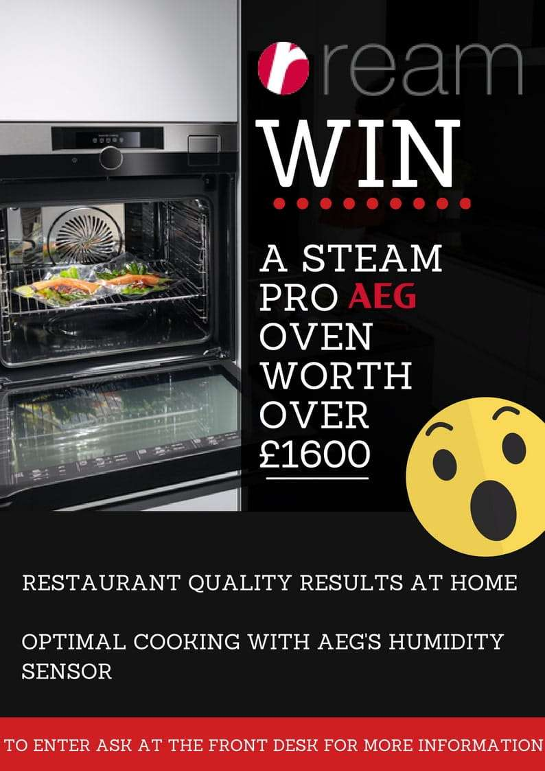 Win an AEG Steam Oven worth £1600