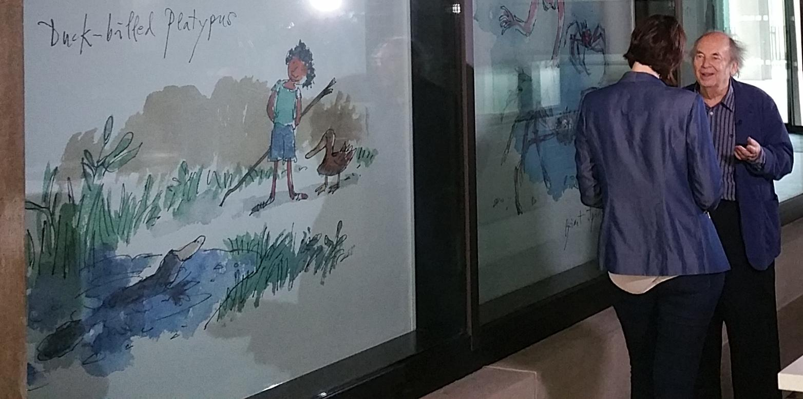 Sir Quentin Blake's Illustrations bring Sun-X Blinds to Life!