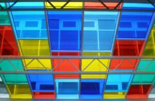 Decorative Film illuminates a school skylight