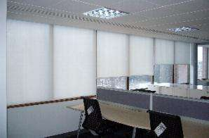 Large blinds in office