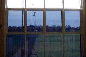 Opaque window film office