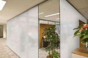 One way privacy window film