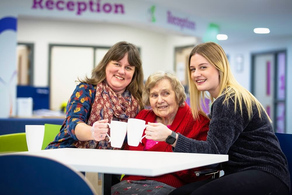 Supporting families with dementia