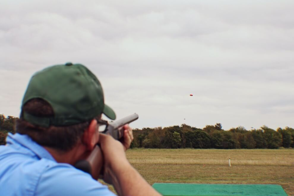 Clay Pigeon Shoot