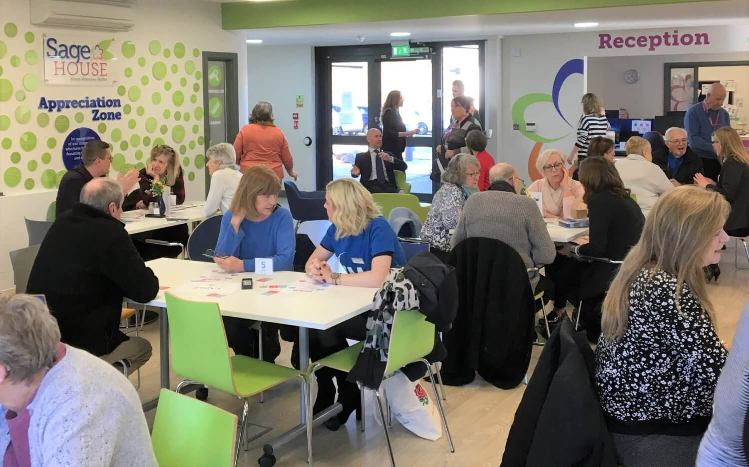 Local businesses support dementia at Sage House