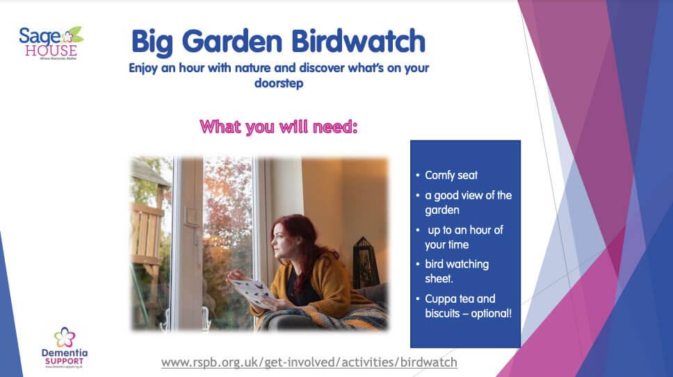 Big Garden Birdwatch Pack