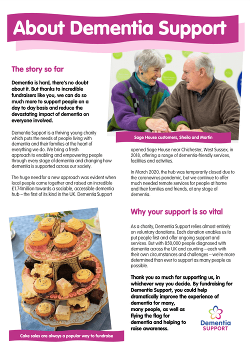 About Dementia Support