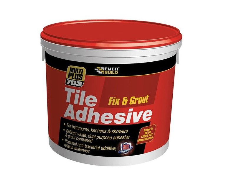 Fix and Grout Tile Adhesive