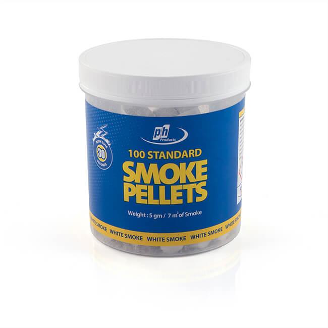 Smoke Test Pellets Tub of 100