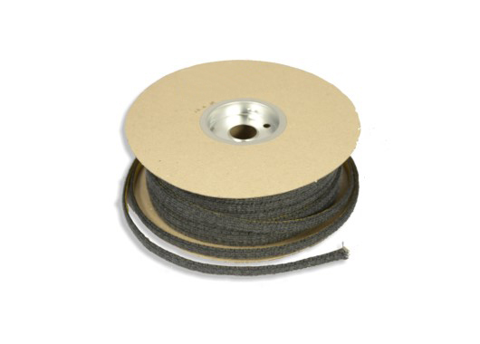 Black Adhesive Backed Fibre Tape