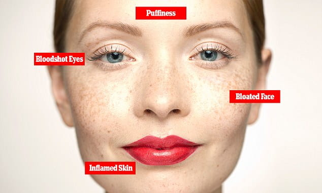 Affect of alcohol on your skin