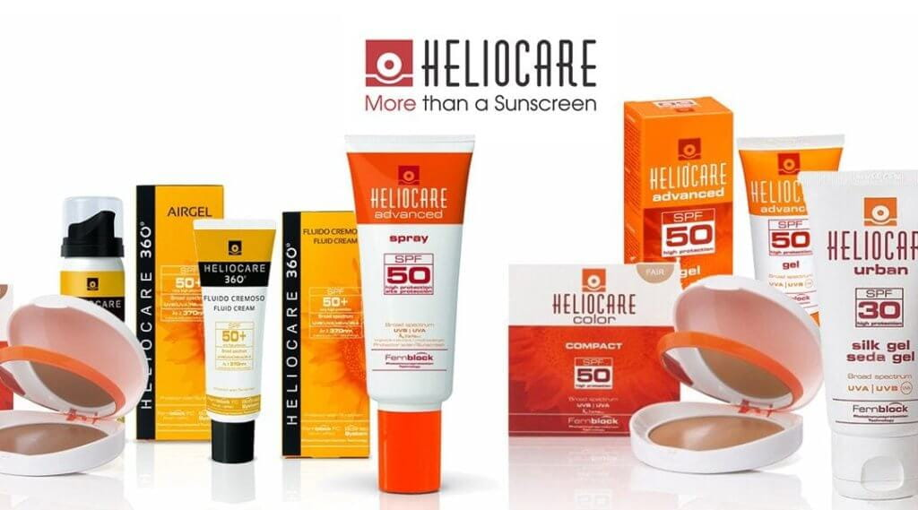 Heliocare SPF for great skin care at home